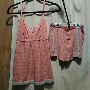 Cami&shorts 2pc matching set